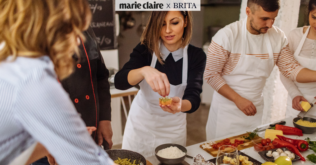 Schrijf je in voor de Marie Claire x BRITA Sustainable Cooking Workshop op 27 november