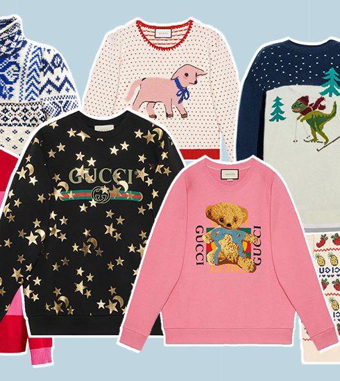 20 designer versies van de Ugly Christmas Sweater