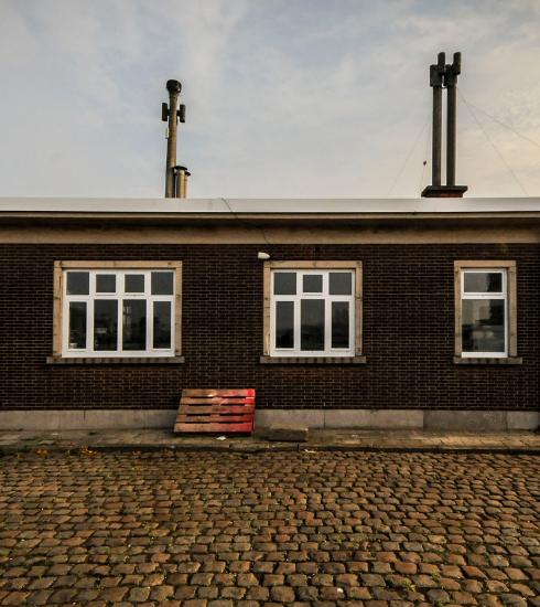 Fiskeskur, het eerste visrestaurant op 't Eilandje in Antwerpen