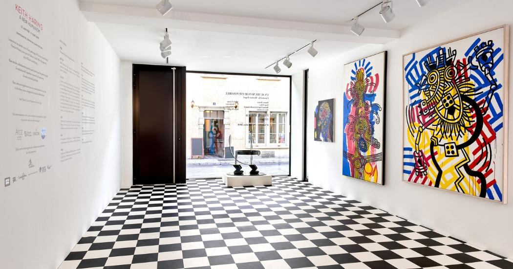 Galerij Zidoun-Bossuyt exposeert nooit eerder geziene werken van Keith Haring