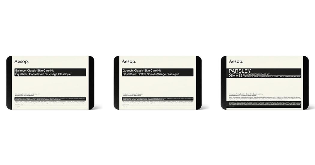 #hebbenhebbenhebben: de nieuwe Skin Care Kits van Aesop