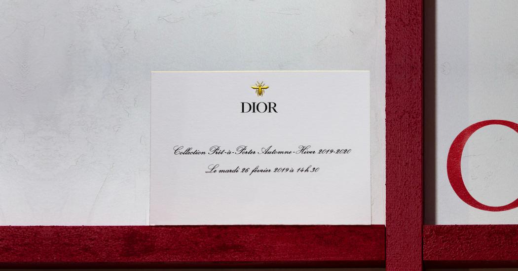 Front row op het Dior defilé tijdens Paris Fashion Week? Het kan hier: