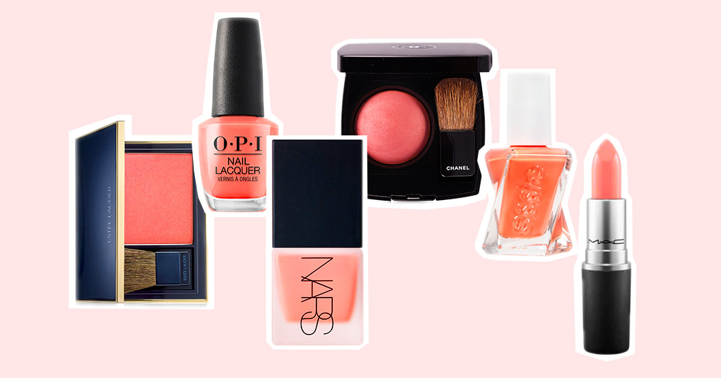 Living Coral: zo draag je de kleur van 2019 op je gezicht en nagels