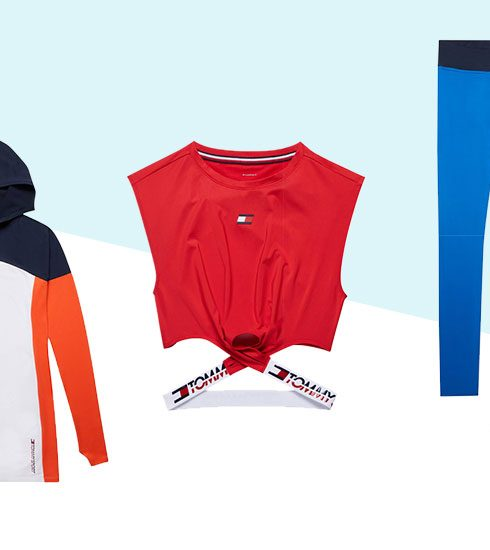 Crush of the day: de athleisure wear van Tommy Hilfiger