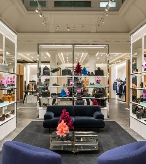 Nieuwe Boss winkel in Antwerpen pakt uit met uniek concept
