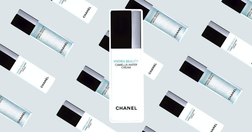 Crush of the day: Chanel hydra beauty Camellia Water Cream