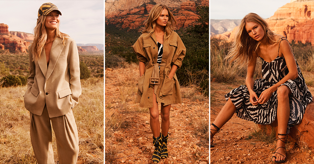 Crush of the day: de nomadische H&M Studio collection