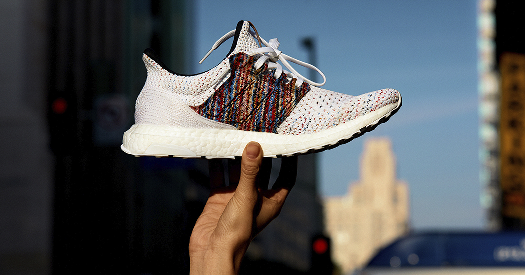 Crush of the day: de hardloopschoenen van Adidas x Missoni