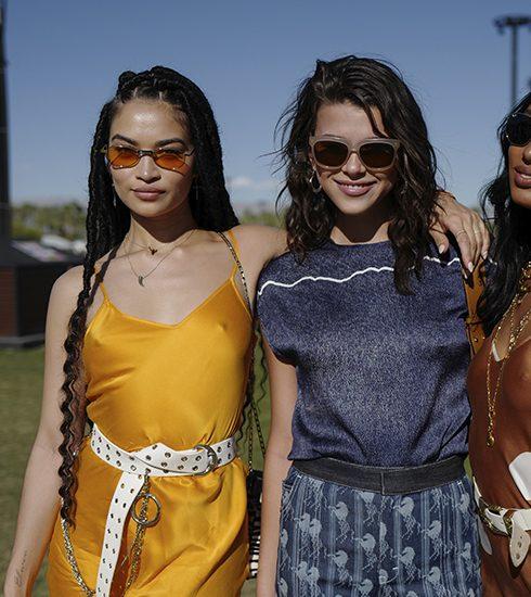 Celebs tonen hun mooiste festivaloutfits op Coachella