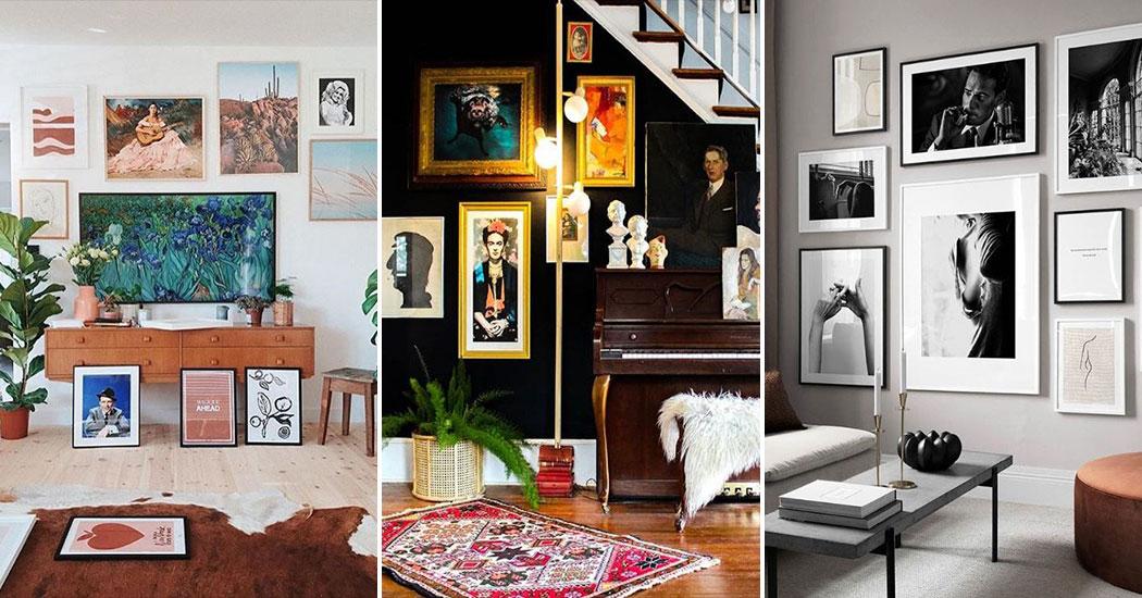 12 webshops waar je betaalbare muurdecoraties kunt vinden