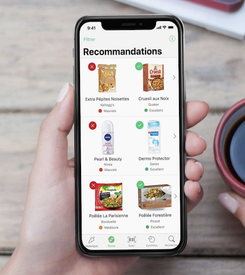 Yuka: de app die voedsel scant, eindelijk beschikbaar in België