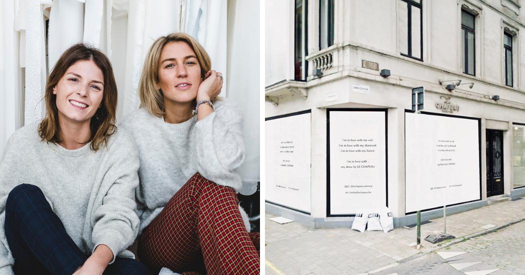 Antwerpse bruidswinkel Le Chapeau wordt overgenomen door duo achter The Ivory Club