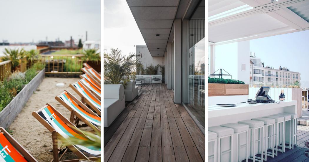 Zomeren in 2019: 3 rooftopbars die hoge toppen scheren