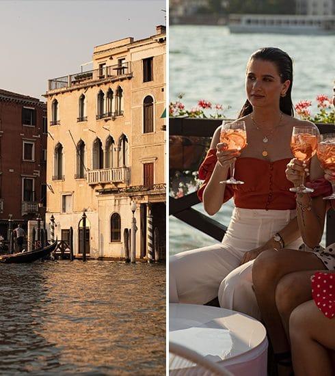 Aperol viert dit jaar zijn 100ste verjaardag met Venetië als prachtige backdrop