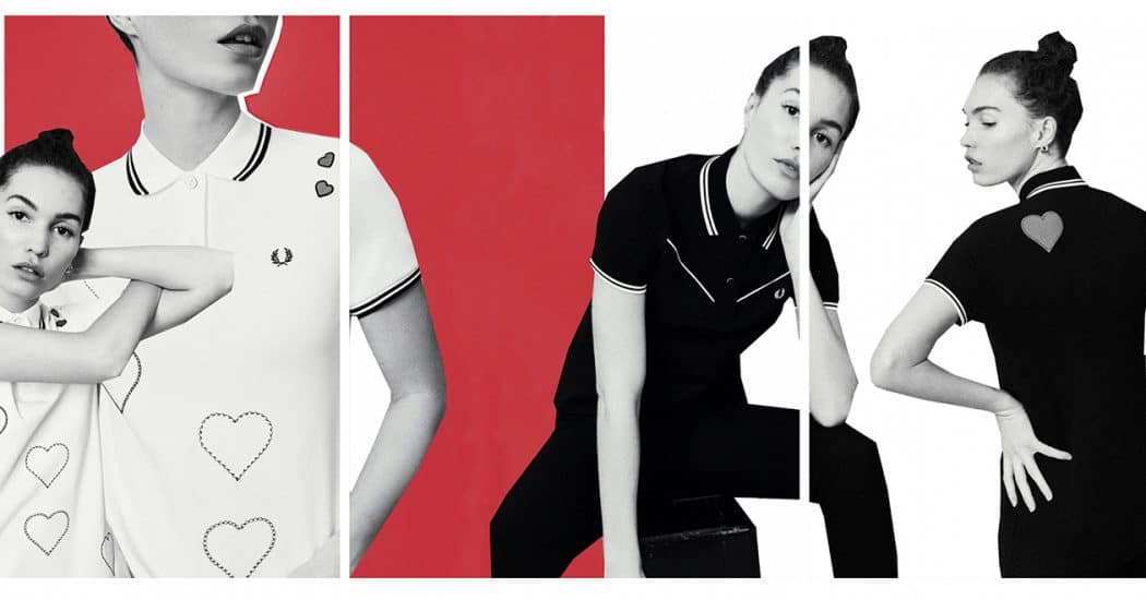 Crush of the day: Fred Perry x Amy Winehouse Foundation AW19 collectie