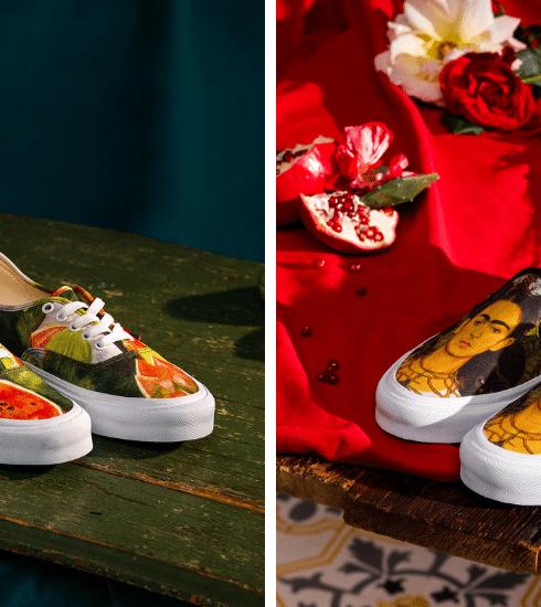 Vans brengt ode aan Frida Kahlo met sneaker