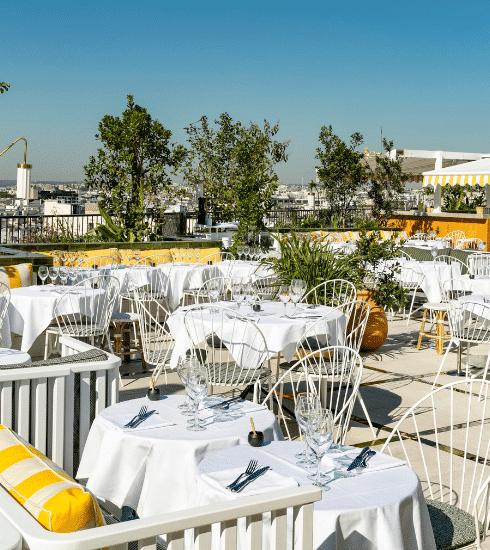 Parijs: 8 rooftops die je in hogere sferen brengen