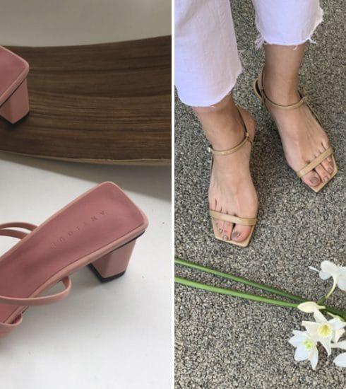 Hier shop je de mooiste Square Toe sandalen