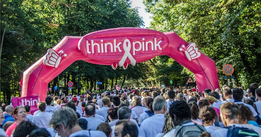 Geef borstkanker geen kans: 29 september Race for the Cure