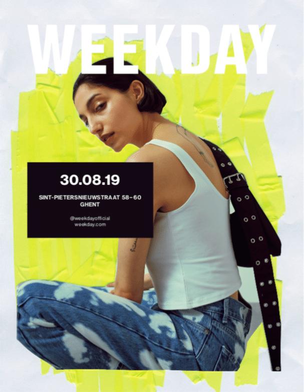 Weekday: het sportieve broertje van H&M is vanaf nu ook te vinden in Gent - 1