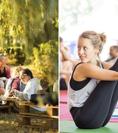 Weekendtip: rol je matje uit op het Yoga Festival bij Gent