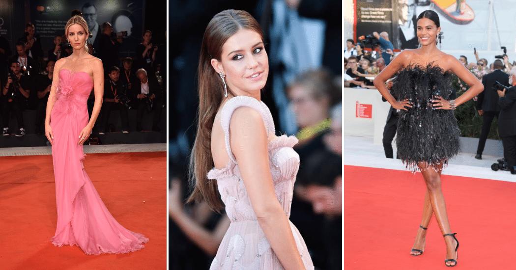 Het filmfestival van Venetië 2019: de eerste catwalk looks op een rij