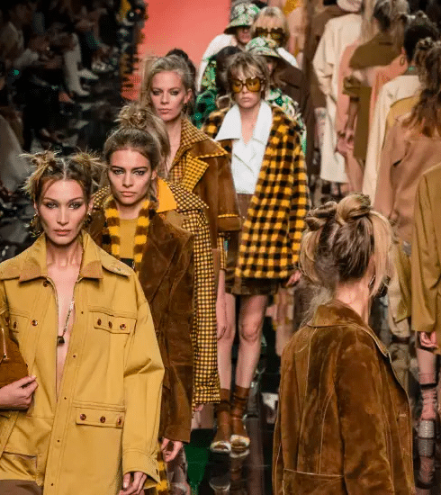 Milan Fashion Week: de Fendi SS20 show in beeld