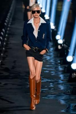 Paris Fashion Week: Naomi Campbell, véél regen en alles wat we zagen op de Saint Laurent SS20 show 150*150