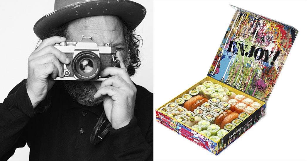 Sushi eten met de Mona Lisa? Het kan dankzij Mr. Brainwash