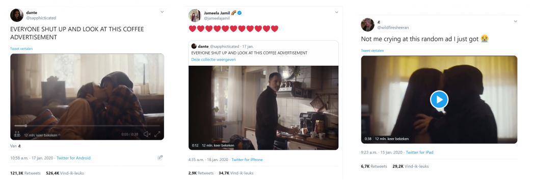 Douwe Egberts doet harten smelten met commercial: 12 miljoen views - 1