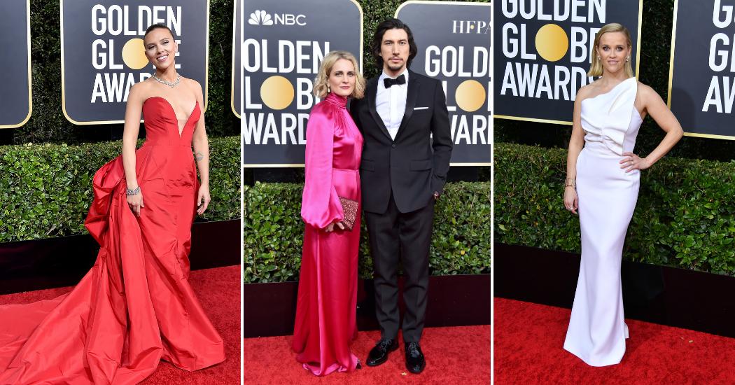 Golden Globes 2020: de rode loper kleurde opvallend roze