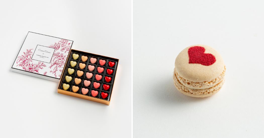 Crush of the day: de Valentijnspralines van Carine Gilson voor Pierre Marcolini