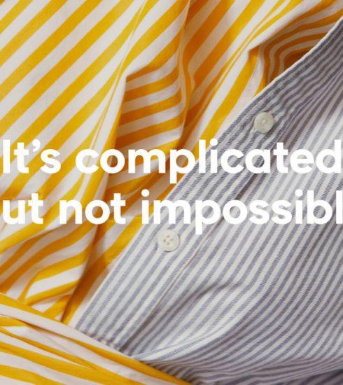 It's complicated but not impossible: het label GANT streeft naar duurzame ontwikkeling