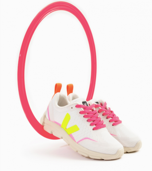 Crush of the day: de felle sneakercollectie van Veja x Bonton