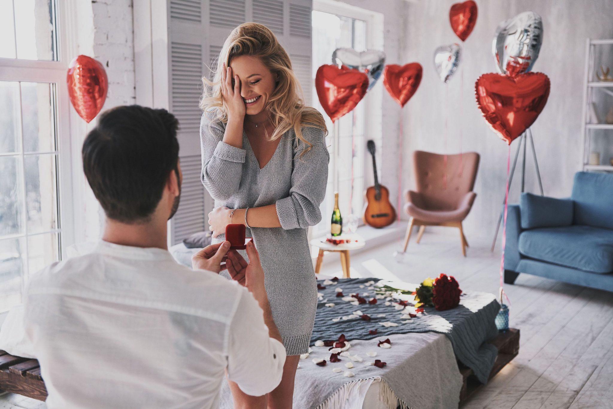Huwelijksaanzoek-Maagd