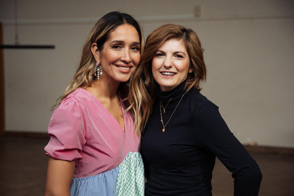 Tiany Kiriloff en Ramona Stoica