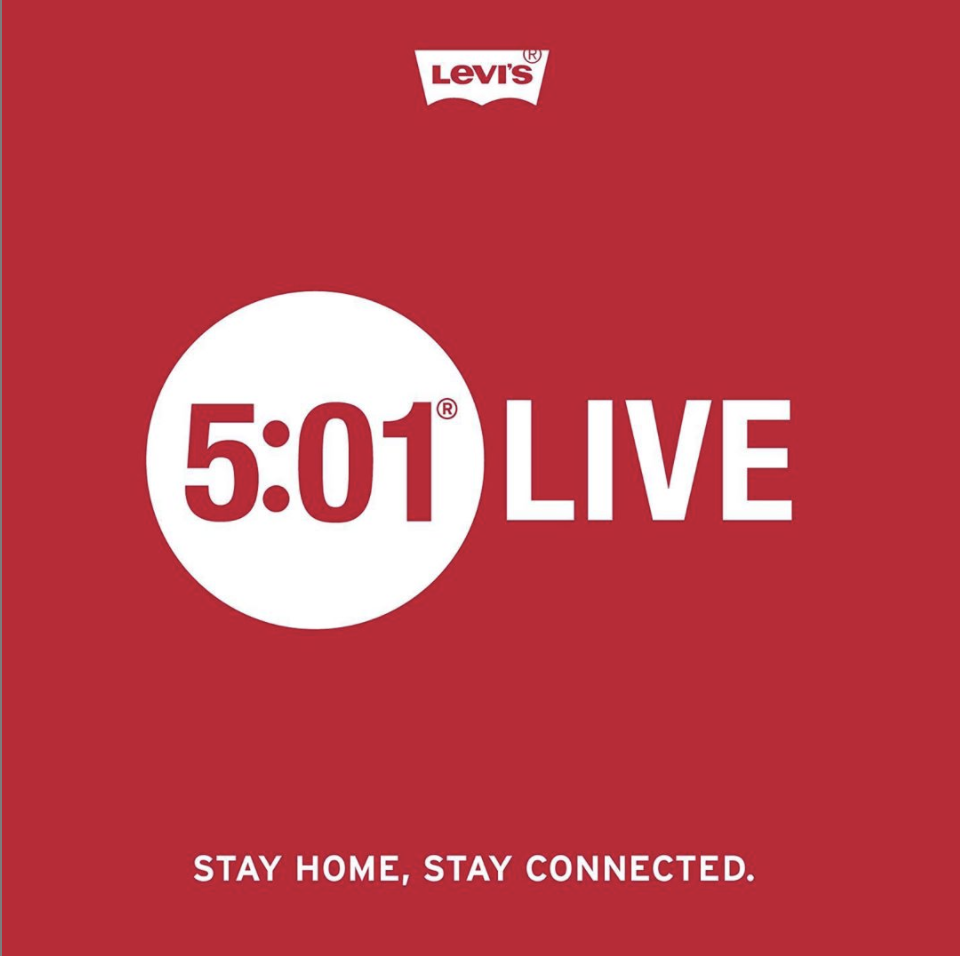 Levi's 5:01 Live sessie