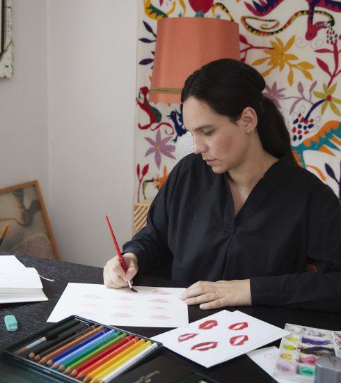 10 vragen aan illustratrice Kera Till, die al werkte voor Chanel, Hermès en Dior