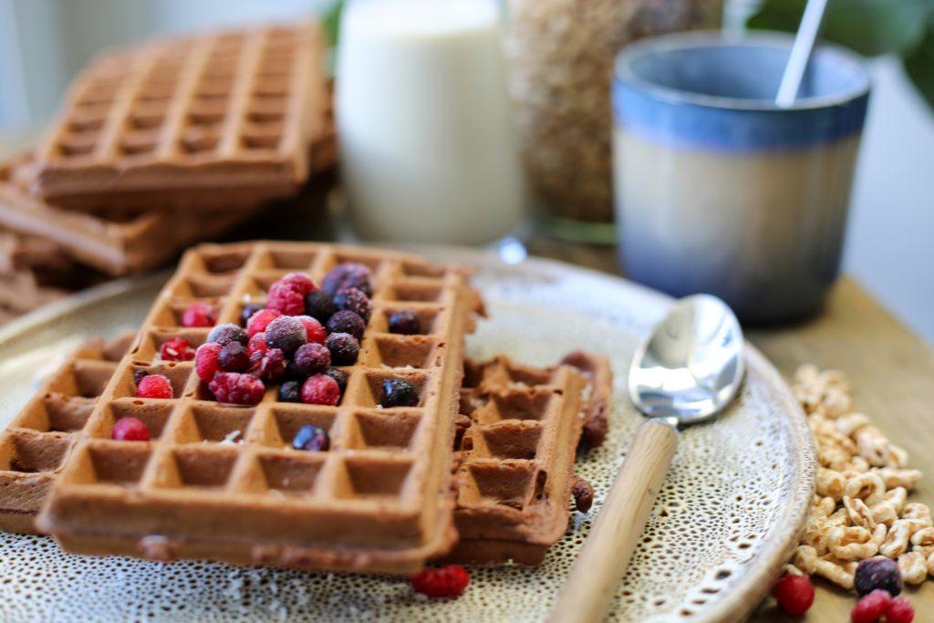 Vegan chocolade wafels