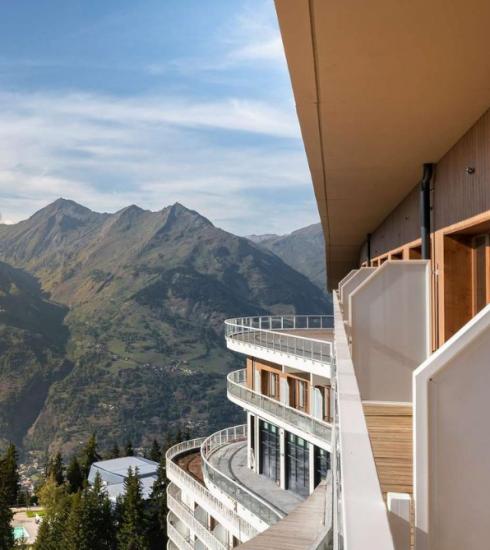 Ontdek deze zomer de panoramische bergen van Les Arcs