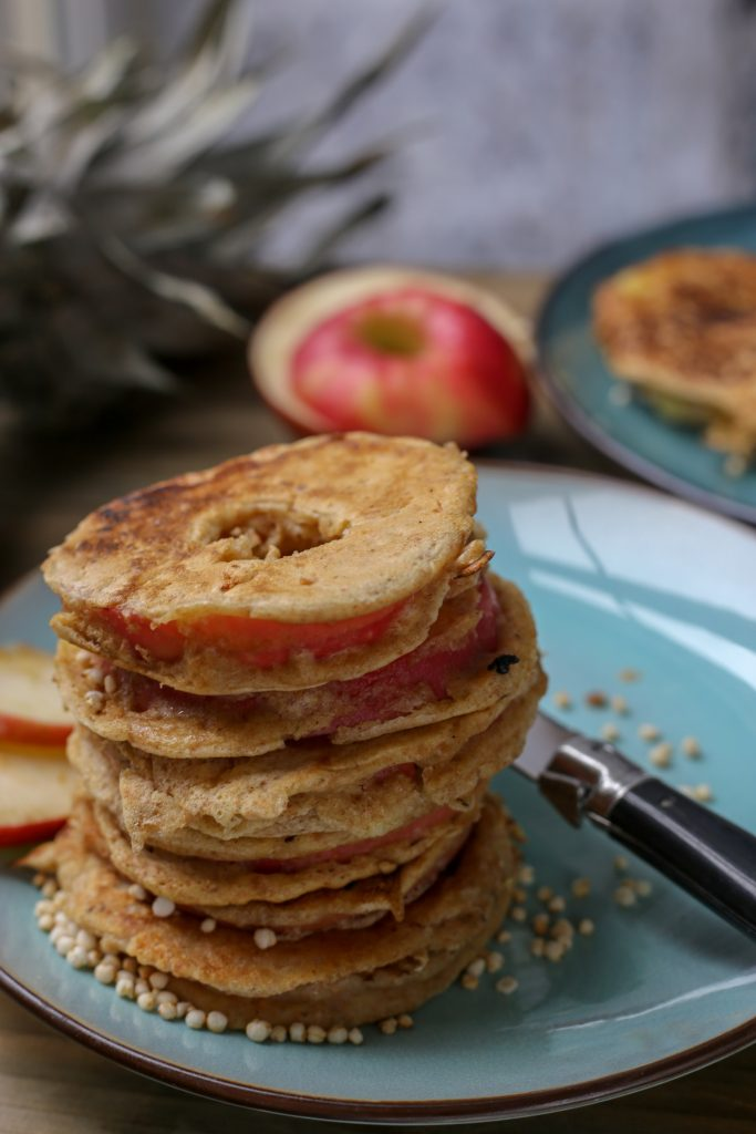 Appel & ananas donuts