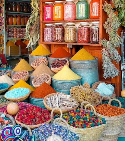 Waan je op een Marokkaanse soek in deze Antwerpse supermarkt