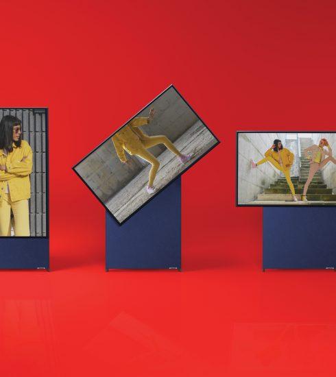Televisie die 90 graden kan worden gedraaid bijna te koop in België