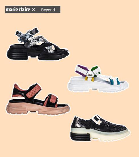 Futuristische schoenen voor een stijlvolle zomer