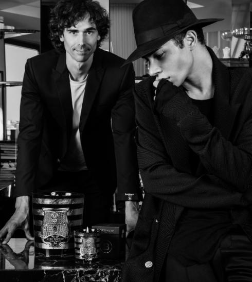 Balmain en Cire Trudon brengen samen een haute-couturekaars uit