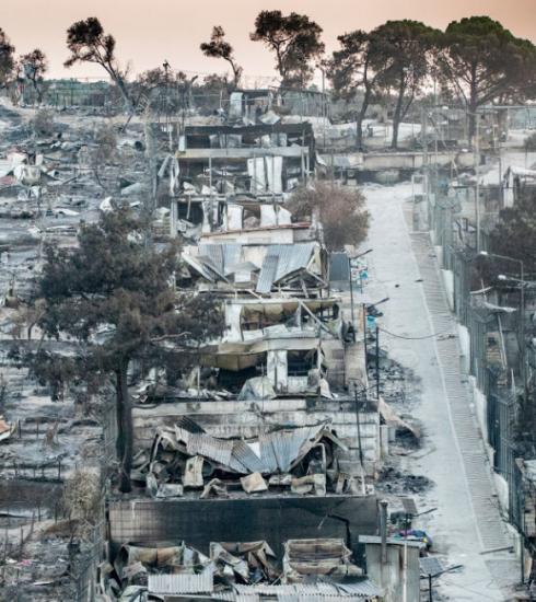 Wat kan jij doen om te helpen na de brand in het vluchtelingenkamp op Lesbos