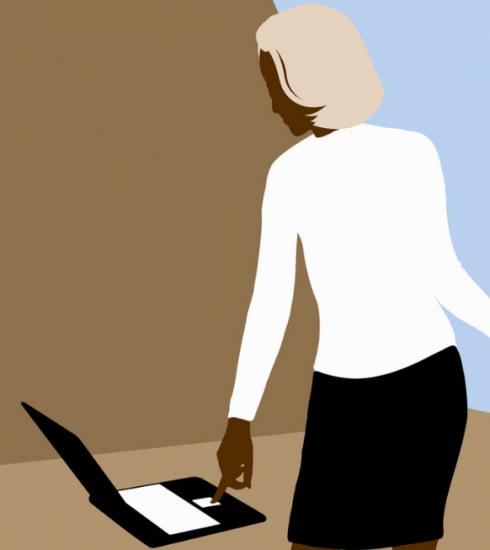 Telewerken: dit is de perfecte zithouding volgens een osteopate