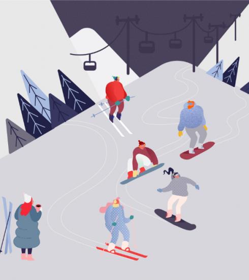 Uitgetest: een dagje skiën net over de Belgische grens
