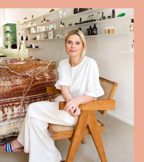 De beauty– en badkamergeheimen van Kim Maes