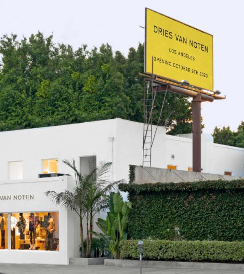 Dries Van Noten opent nieuwe winkel in LA: neem een kijkje binnen